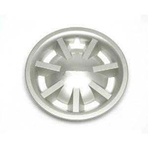 8'' Metallic Silver Hubcap