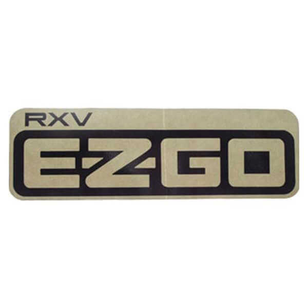EZGo RXV Side Body Decal
