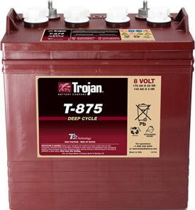 Trojan T875 8V Battery