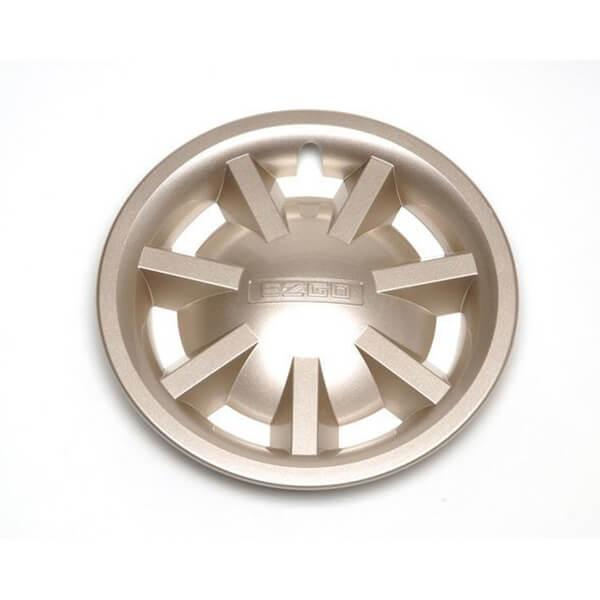 8inch Metallic Gold Hubcap Assembly