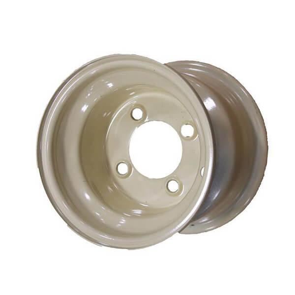 Stone Beige Steel Wheel -  8in