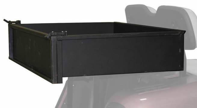Steel Cargo Box fits EZGo Club Car Yamaha
