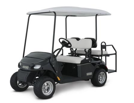 EZGO TXT Shuttle 2+2 Golf Buggy Main View