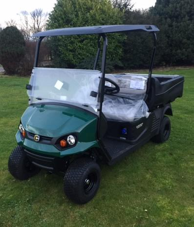 Cushman Hauler 72V Pro X Golf Buggy Main View