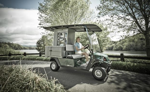 Cushman Refresher Oasis Golf Buggy Main View
